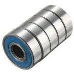 New              100pcs 608RS Bearing ABEC-9 Ball Bearing Carbon Steel Skateboard Wheel Bearings