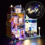 New              DIY LED Light Lighting Kit ONLY For LEGO 10270 Creator Modular Bookshop Building Toy