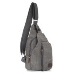 New              Canvas Chest Bag Christmas Gifts Outdoor Sport Camping Hiking Shoulder Backpack