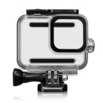New              45M Camera Waterproof Case Cover Protector For Gopro Hero 8 Camera 9H Tempered Glass