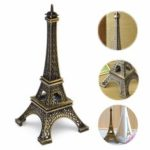 "New               6"" Tone Paris Eiffel Tower Figurine Statue Vintage Alloy Model Home Decorations"