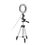 New              LED Ring Light Photo Studio Camera Light Photography Dimmable Video Light for Youtube Makeup Selfie with Tripod Phone Holder