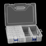 New              42/84/100 Slot Embroidery Diamond Paintings Tool Storage Box Jewelry Organizer