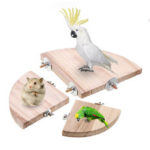 New              10/13/17cm Smooth Steady Pet Bird Platform Cage Stand Bottom Plate for Hamster Parrot Sparrow Small Pet