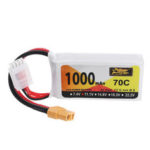New              ZOP Power 11.1V 1000mAh 70C 3S Lipo Battery XT60 Plug for JJRC M02 RC Airplane