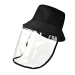 New              PVC Protective Face Mask Hat Anti-droplet Saliva-proof Dust-proof