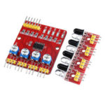 New              3pcs 4CH Channel Infrared Tracing Module Patrol Four-way Sensor For Car Robot Obstacle Avoidance