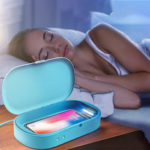 New              Bakeey Qc3.0 UV Disinfection Box Portable Smart Wireless Charger Mobile Phone Mask Glasses Sterilizer