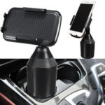 New              360° Clip Car Cup Holder Stand Cradle Mount Car Phone Holder For Cell Phone GPS