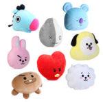 New              For KPOP BTS BT21 TATA SHOOKY RJ SUGA COOKY JIMIN Bed Plush Pillow Doll