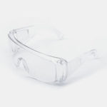 New              Anti-fog Anti-flu Transparent Goggles For Myopia Glasses