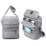 New              Men Multifunctional Canvas Crossbody Bag Handbag