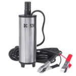 New              12V Oil Diesel Liquid Electric Fuel Transfer Pump Submersible Water 32L/min with Filter Net