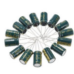 New              50Pcs 35V 470UF 10 x16MM High Frequency Low ESR Radial Electrolytic Capacitor