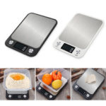 New              10kg/5kg Household Kitchen Scale Electronic Food Scales Diet Scales Measuring Tool Slim LCD Digital Electronic Weighing Scale