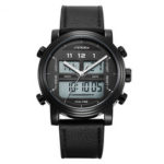 New              SINOBI 9824 Dual Display Digital Watch
