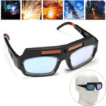 New              Solar Powered Auto Darkening Welding Mask Helmet Goggle Welders Glasses Arc PC Goggles For Welding Protection