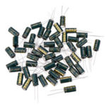 New              50Pcs 35V 1000UF 10 x 20MM High Frequency Low ESR Radial Electrolytic Capacitor