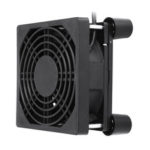 New              9CM Router Cooling Fan Rack 5V USB TV Box Notebook Cooling Rack With Foot Pad