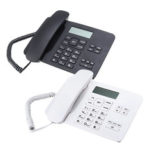 New              KX-T7001 Desktop Corded LCD Telephone Business Office Home Fixed Phone Landline Telephone