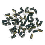 New              50Pcs 10V 2200UF 10 x 20MM High Frequency Low ESR Radial Electrolytic Capacitor