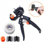 New              Garden Nursery Fruit Tree Pro Pruning Shears Scissor Grafting Cutting Tools Sets