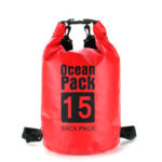New              IPRee® 6 Sizes Dry Sack Bag 2/5/10/15/20/30L Waterproof Dry Bag Sack for Kayak Canoeing Outdoor Camping Pouch Pack Storage Bags Red