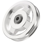 New              73/95/110/114mm Aluminum Alloy Bearing Pulley Wheels Gym Fitness Equipment Parts Accessories