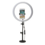 New              13 Inch RGB Dimmable LED Video Ring Light Selfie Lamp For Camera Makeup Youtube Live