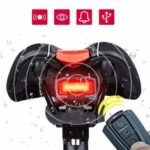 New              ANTUSI 3 in 1 Bicycle Wireless Rear Light Cycling Remote Control Alarm Lock Mountain Bike Lights