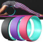 New              33x13cm TPE Muslce Relaxion Yoga Ring Abdominal Wheel Roller Backward Bend Fitness Yoga Circle