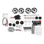 New              SINOHOBBY DIYQ1 1/28 2.4G AWD RC Car Kit Full Proportional with Motor Servo Transmitter
