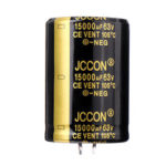 New              15000UF 63V 30x50mm Radial Aluminium Electrolytic Capacitor High Frequency 105°C
