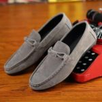 New              Slip On Casual Soft Walking Driving Suede Flats