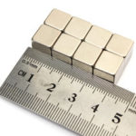 New              10Pcs N50 Rare Earth Magnet 10mm Cube Block Neodymium Super Strong Fridge