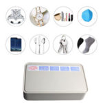 New              Bakeey W8 Multifunctional UV Disinfection Box Mobile Phone Face Mask Watch Jewelry Sterilizer