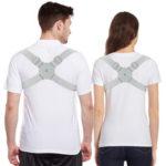 New              Smart Adjustable Posture Trainer Vibration Reminder Posture Corrector Upper Back Brace Clavicle Support Children Adult Back Support Belt