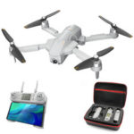 New              Global Drone GW90 GPS 5G WiFi 1KM FPV with 4K HD Camera Optical Flow Brushless RC Drone Quadcopter RTF