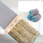 New              Microfiber Mop Cloth Kitchen Floor Cleanner for Household Flat Squeeze Mops Home Dust Clean Tools