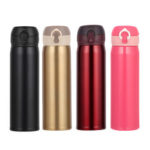 New              500ml 304 Stainless Steel Insulated Water Bottle Vacuum Thermos Travel Flask