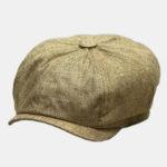 New              Men Vintage Painter Beret Hats Summer Octagonal Newsboy Cap Cabbie Lvy Flat Hat Beret Caps