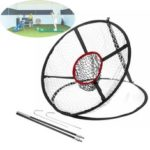 New              65x 54CM Foldable Golf Chipping Pitching Practice Net Hitting Cage Outdoor Golf Training Aid Tools