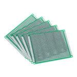New              5pcs 6x8cm 6*8 Double Side Prototype PCB DIY Universal Printed Circuit Board
