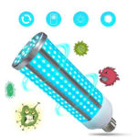 New              40W 80W Ultraviolet Germicidal Lamp LED UVC Bulb Household Ozone Disinfection Light 85-265V