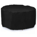 New              Waterproof Outdoor Garden Furniture Round Cover Oxford Cloth Dustproof Covers