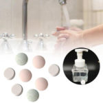 New              10PCS Water Melt Effervescent Tablet Hand Sanitizer With Rich Foam Super Clean Power Strong Disinfect Aloe Fragrance Washing FoamHand Sanitizer For Skin Cleaning