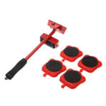 New              Heavy Duty Furniture Moving Tool Transport Shifter Wheel Slider Lifting Roller