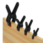 """New              Hand Tools Hard Plastic Spring Clip Woodworking DIY Model Making Bonding Grip 2"""" Toggle Clamps 6 Size Clips Supplies Spring Clamp"""