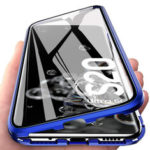 New              Bakeey 360º Curved Magnetic Flip Double-sided 9H Tempered Glass Metal Full Body Protective Case for Samsung Galaxy S20 Ultra / Galaxy S20 Ultra 5G 2020
