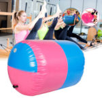New              100x85CM Inflatable PVC Roller Fitness Gymnastics Indoor Gym Yoga Column Therapy Physio Exercise Tools